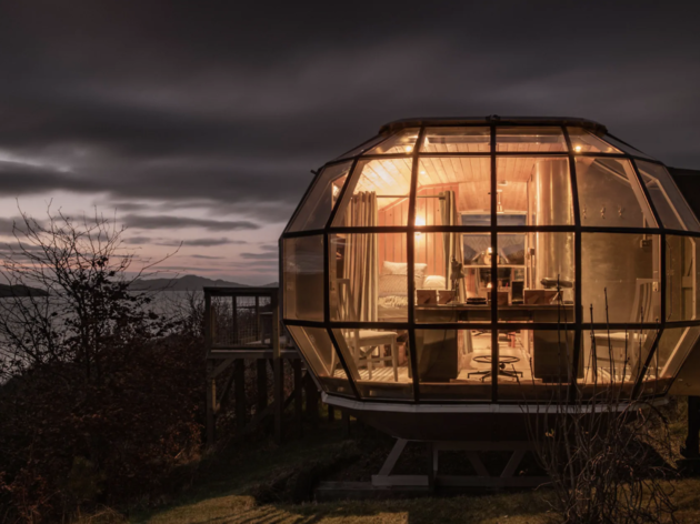 Scottish airship airbnb