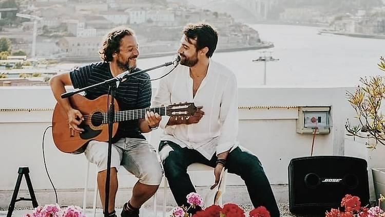 Rui David e Pedro Lamares na primeira sessão das Douro Sessions