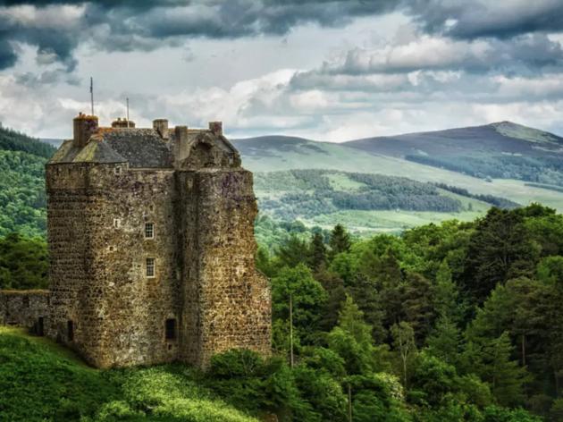Scottish castle airbnb