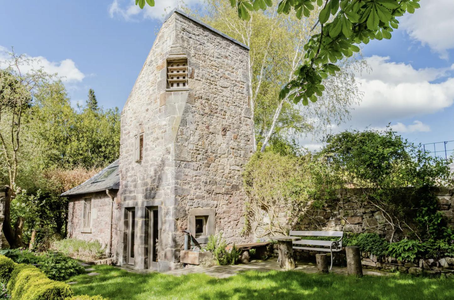 Scottish dovecote airbnb