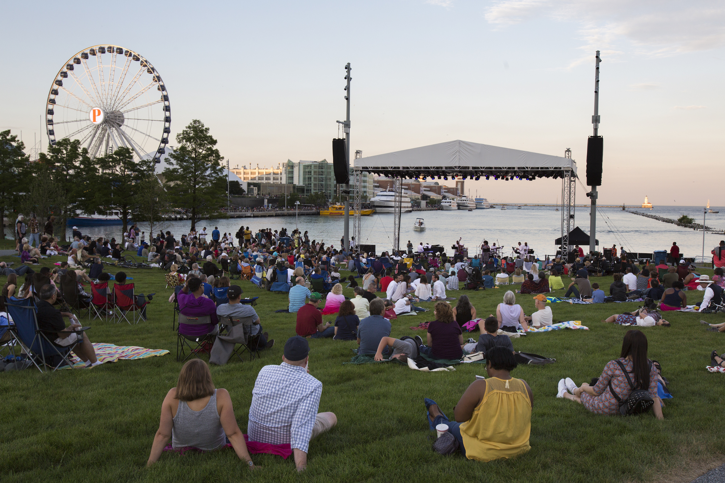 Navy Pier is moving forward with outdoor movie screenings and concerts this summer