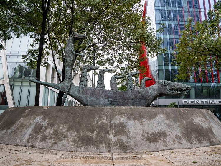 Ruta de esculturas al aire libre en la CDMX