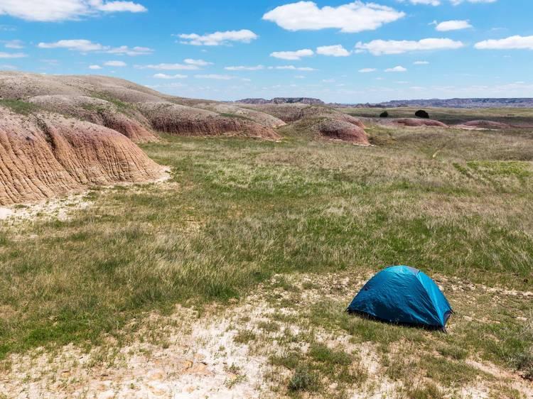 Badlands National Park, South Dakota: Sage Creek Primitive Campground
