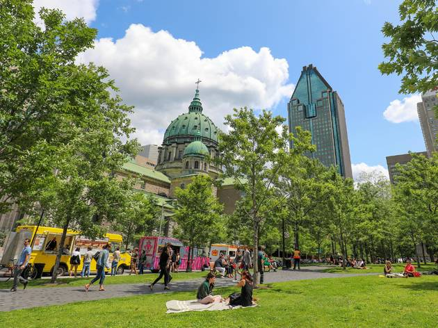 The best places to bring your next takeout picnic near Time Out Market Montréal