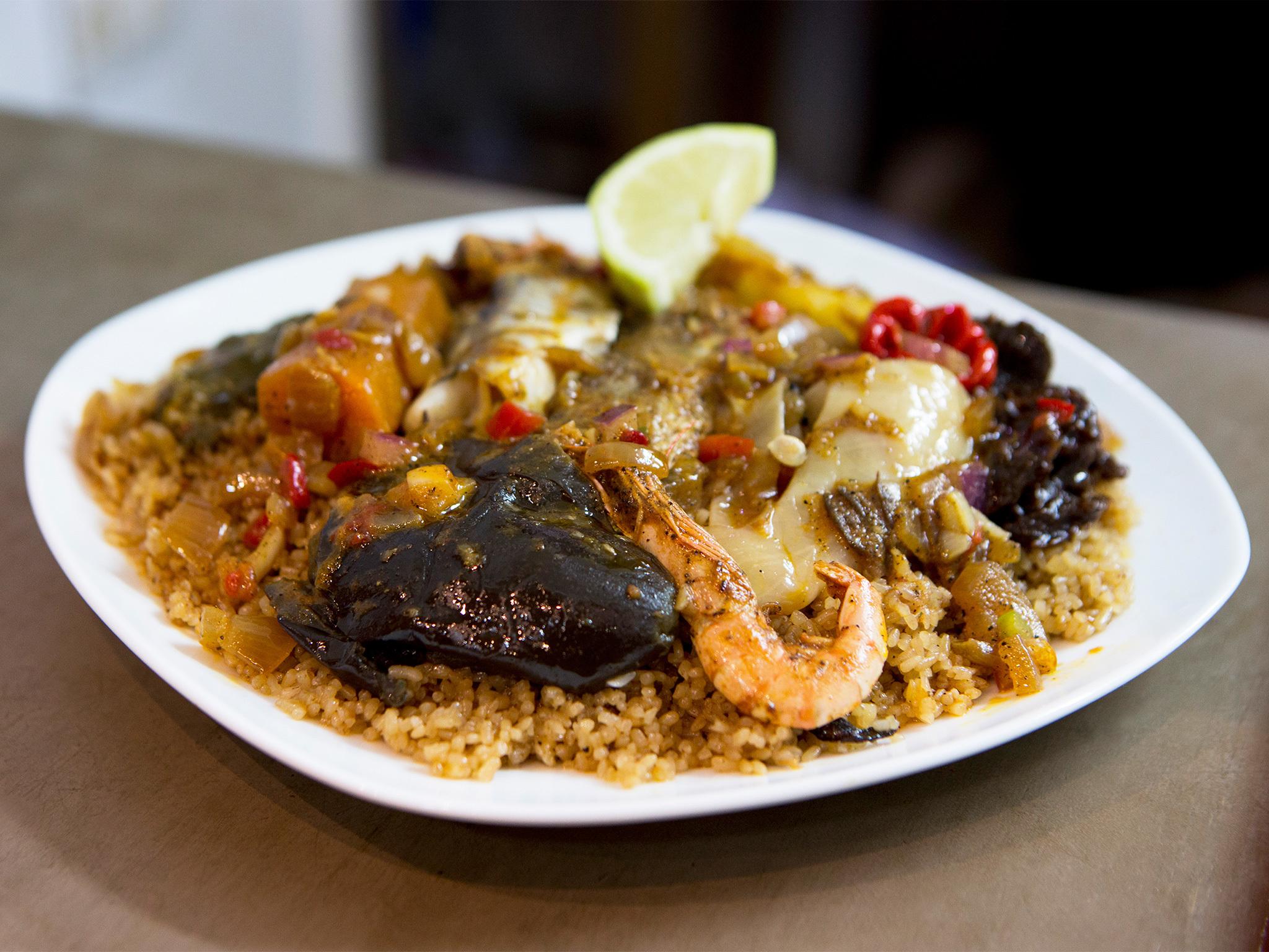 Le Saraba restaurant senegalès