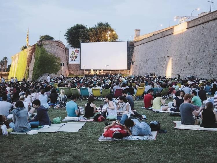 Cinema a la fresca a la Sala Montjuïc