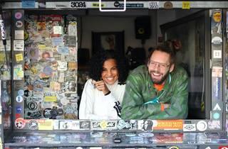 Neneh Cherry and Charlie Bones at NTS Radio