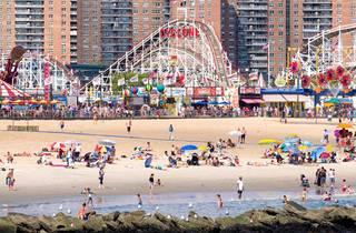 NYC beach coney island