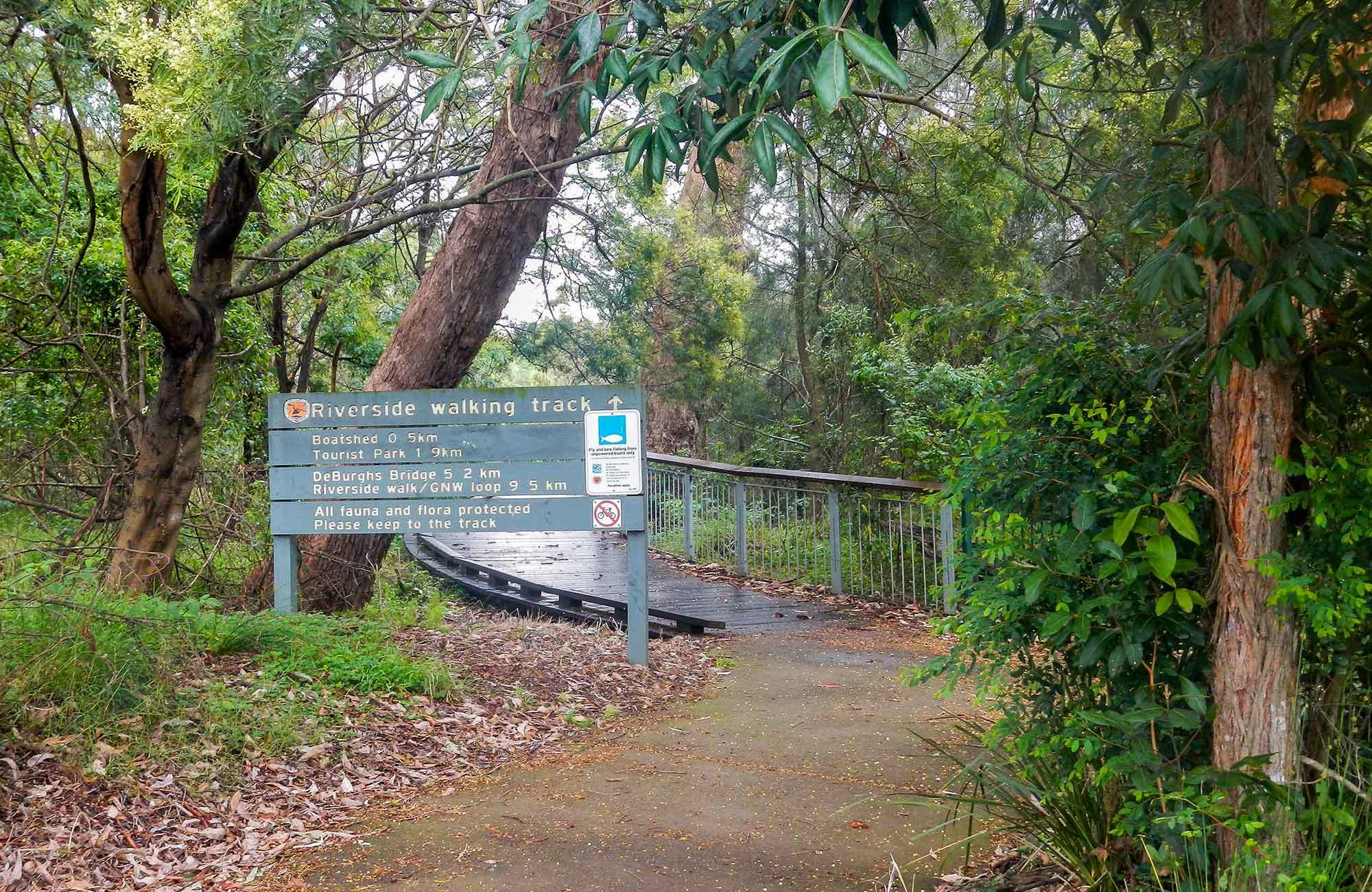 Riverside Walk, Lane Cove National Park