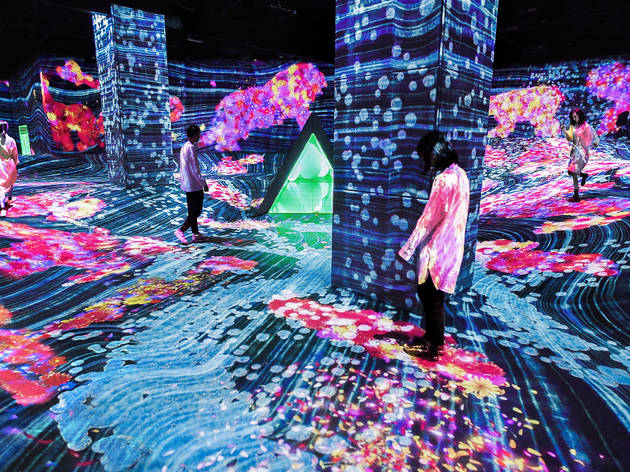 In photos: see the new teamLab exhibition that has just opened in Fukuoka