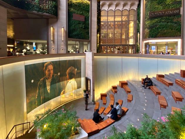 K11 Musea Sunken Plaza Movie Screening