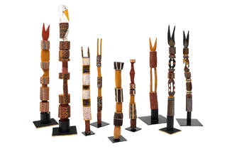 Tiwi Islands Exhibition NGV (Photograph: Courtesy of National)