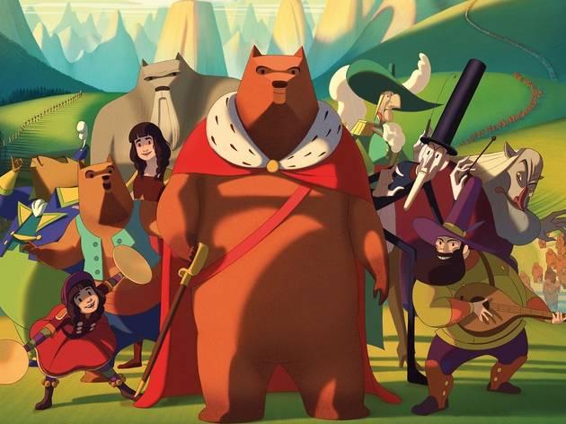 Film infantil La famosa invasió dels óssos a Sicília