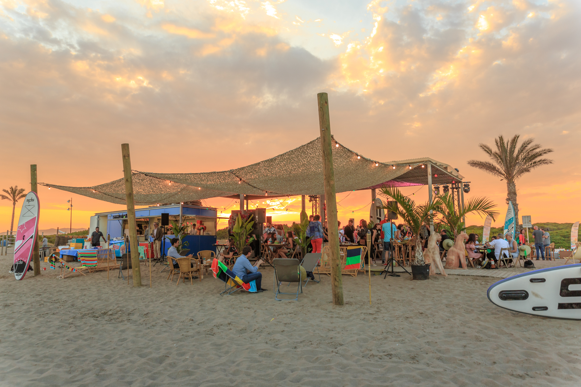 ¡El picnic de playa de El Maravillas del Prat!