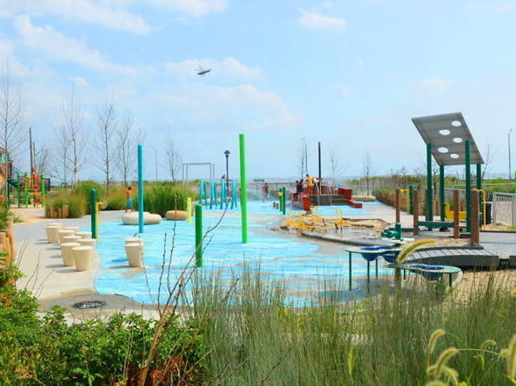 Beach 30th St Playground, Rockaway Boardwalk