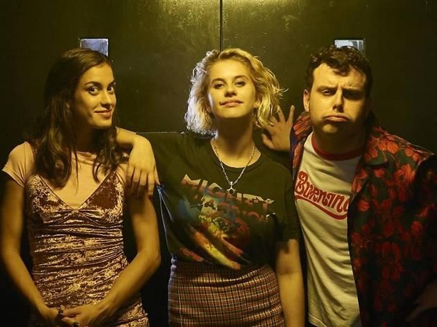 Els tres protagonistes de la sèrie 'Drama'