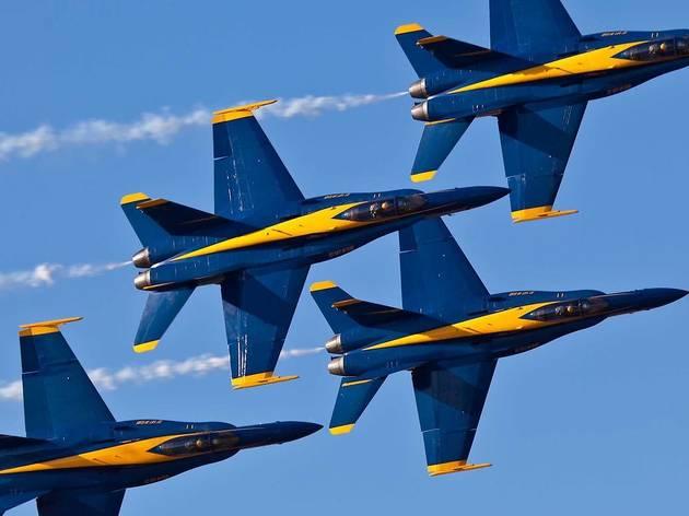 flyover blue angels thunderbirds