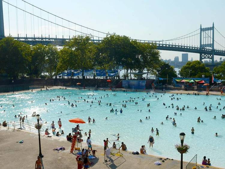 Go swimming at NYC's outdoor pools