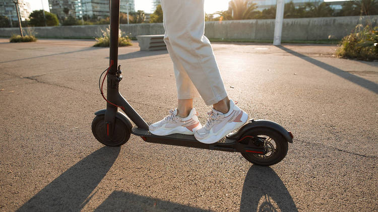 Electric scooters will be legal to rent from Saturday to help social distancing