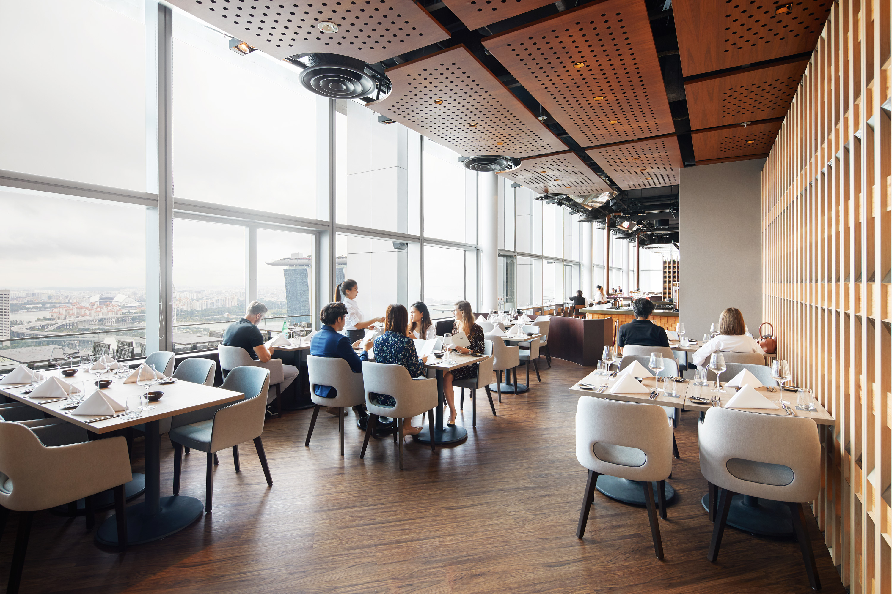 Level33 Dining room