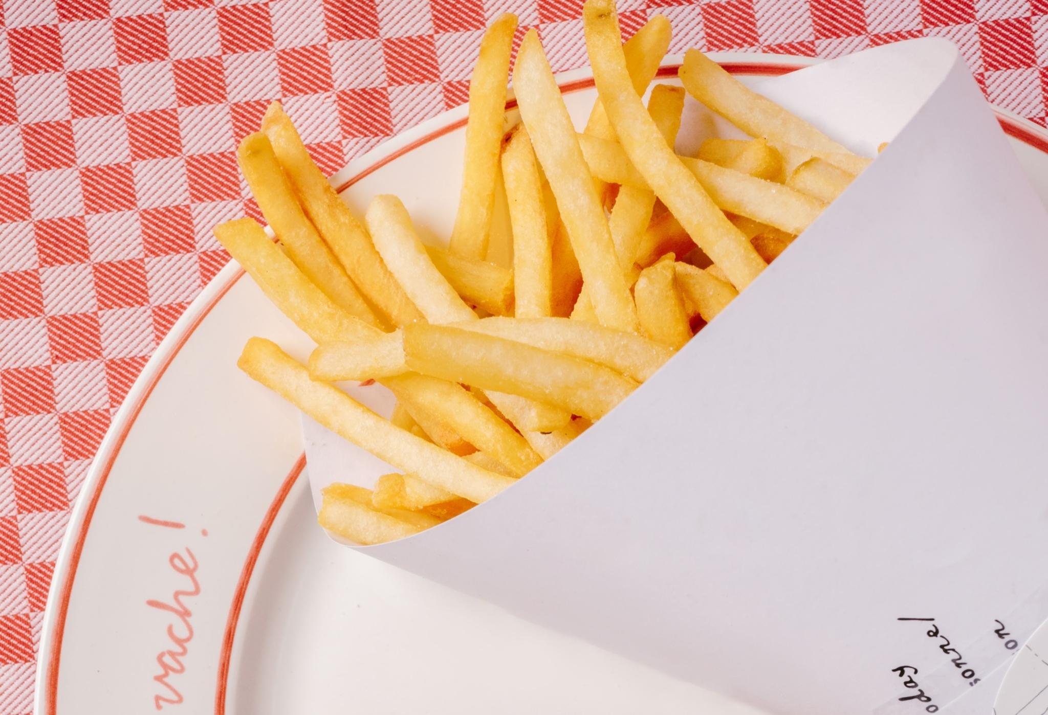 Best fries in Hong Kong