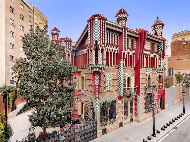 Casa Vicens a Vila de Gràcia
