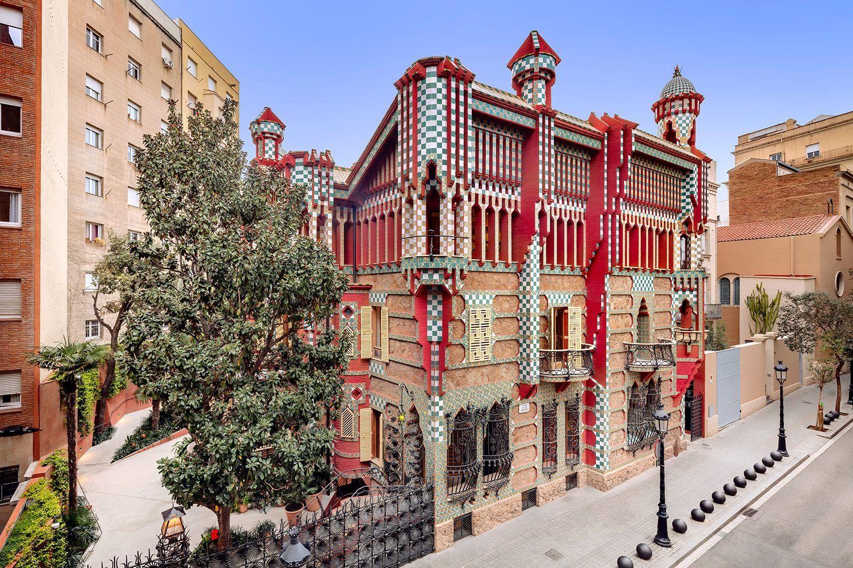 Casa Vicens reabre sus puertas con entradas al 50%!