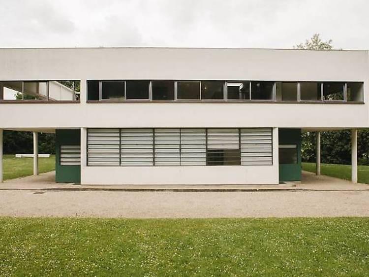 Etre moderne en visitant la Villa Savoye