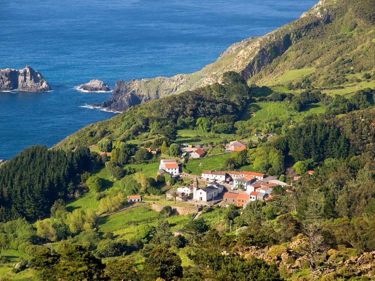 San Andrés de Teixido. A Coruña