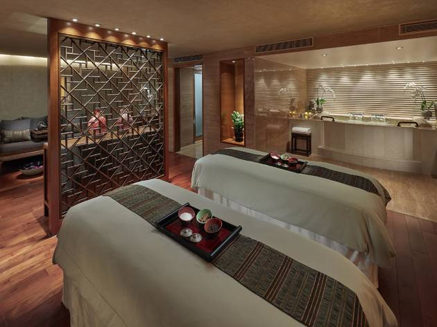 Mandarin Oriental Hong Kong hotel spa