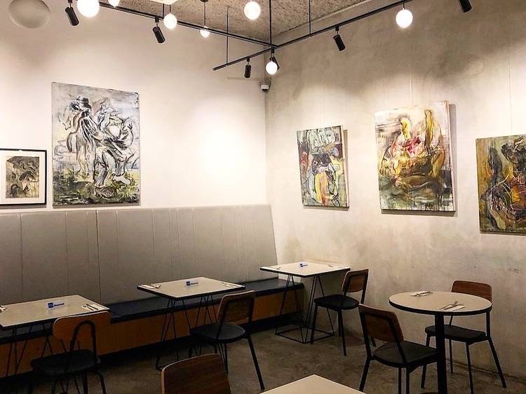 Wine, dine, shop and view some art at SPRMRKT