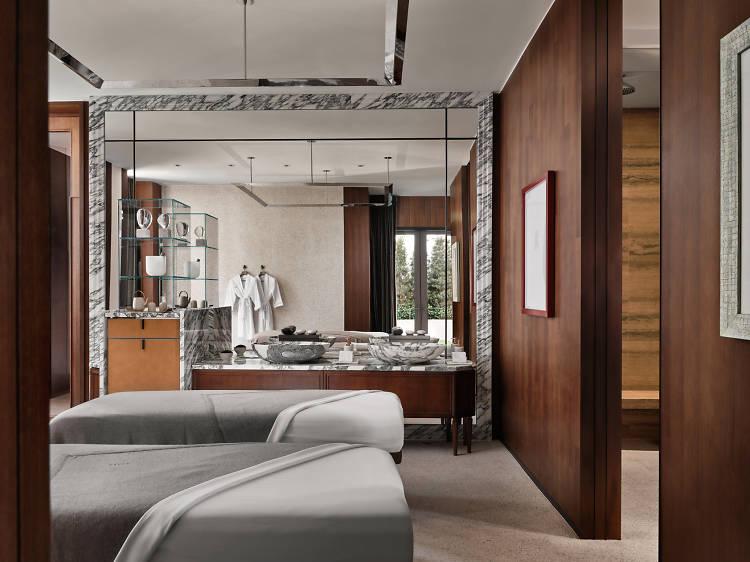 香港最佳酒店 spa 水療中心