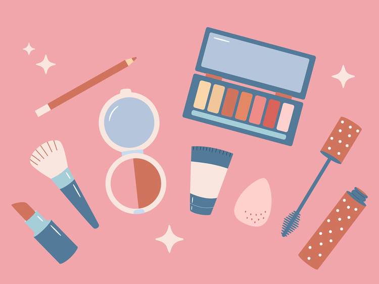 You never leave the house without makeup