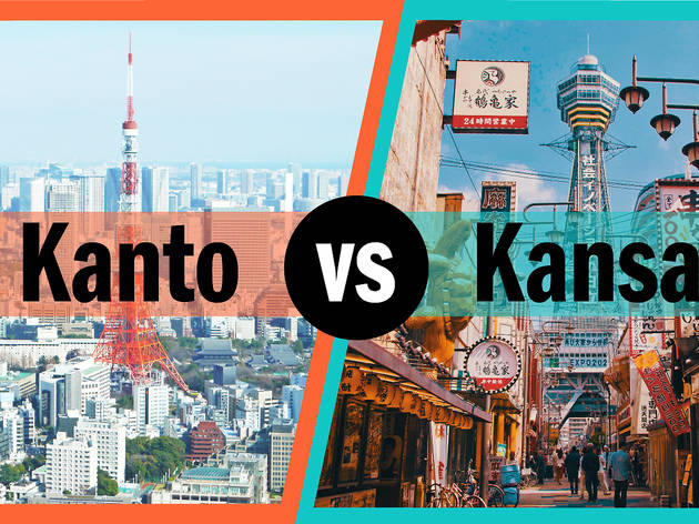Kanto vs Kansai