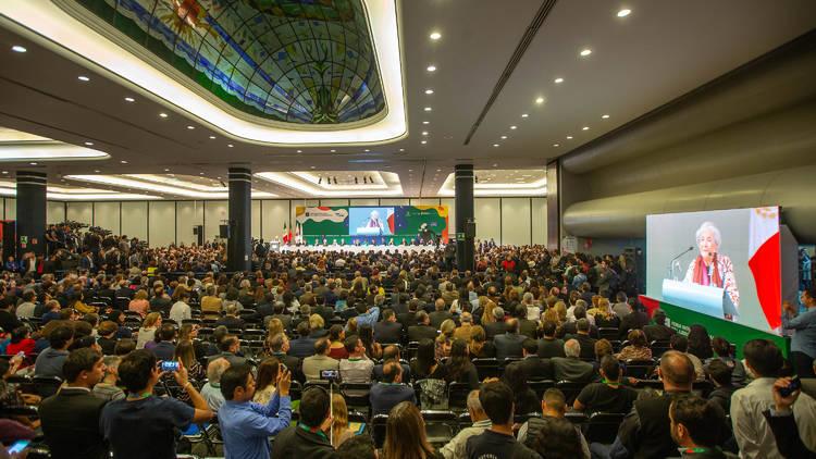 Entrega del premio FIL  2018 de literatura en Lenguas Romances