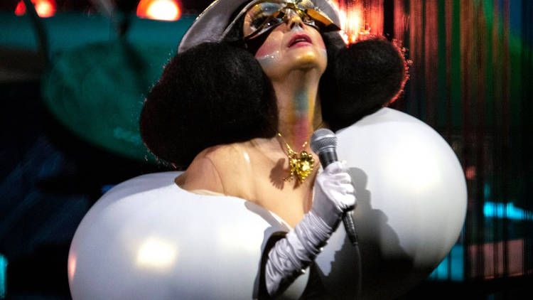 Björk en The Shed