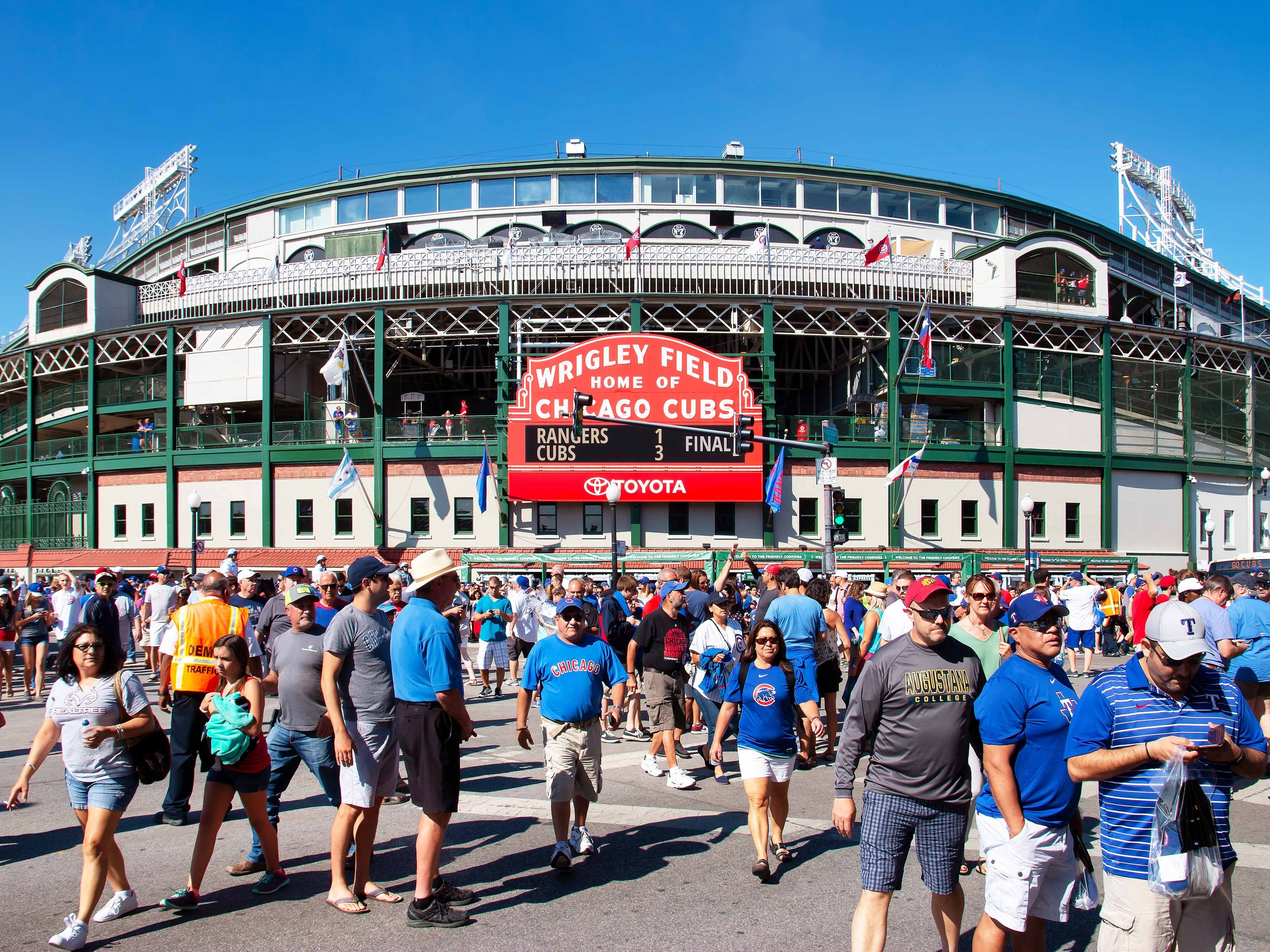 The Cubs and White Sox will kick off MLB season with home games on July 24
