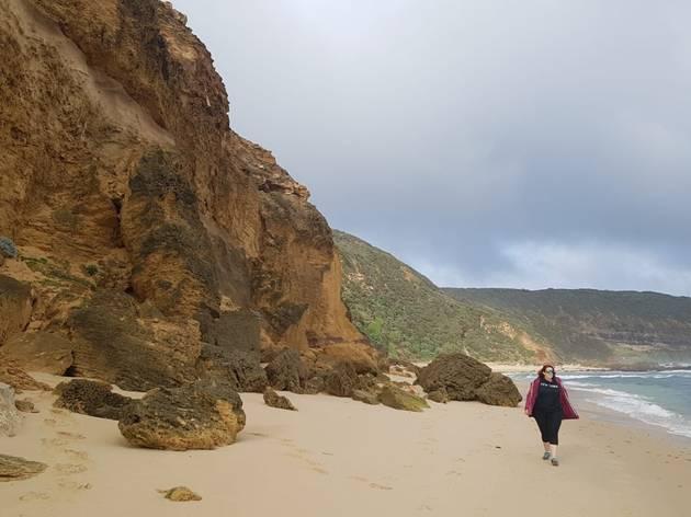 Fingal Beach Walk