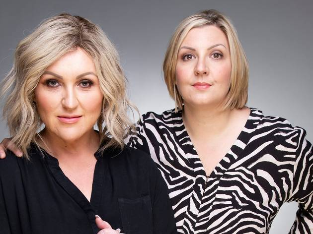 Meshel Laurie and Emily Webb