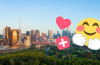 Melbourne skyline help emojis