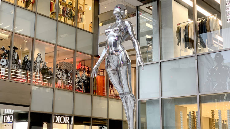 Sexy Robot, Shibuya Parco, Hajime Soryama