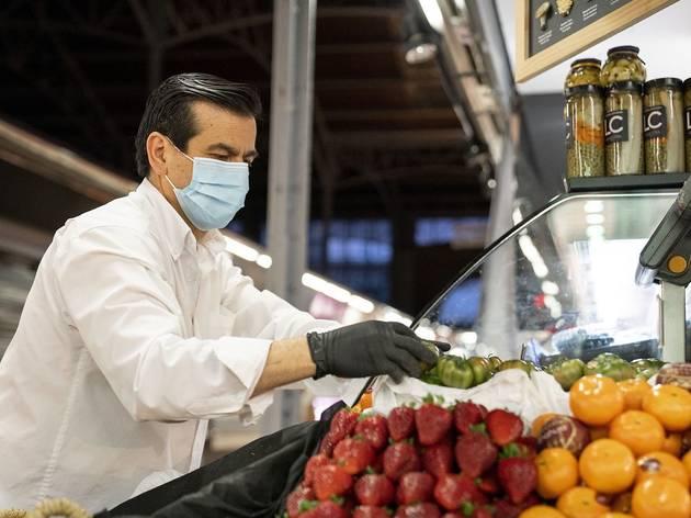 L'ús de la mascareta obligatòria a Catalunya