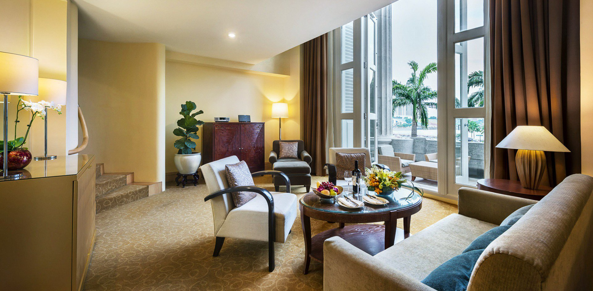 Stay in a suite at The Fullerton Hotel Singapore from $1180 for two nights