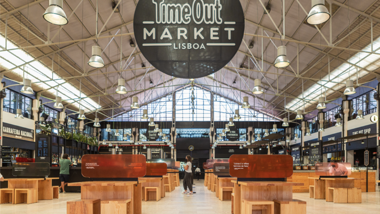 Time Out Market food hall
