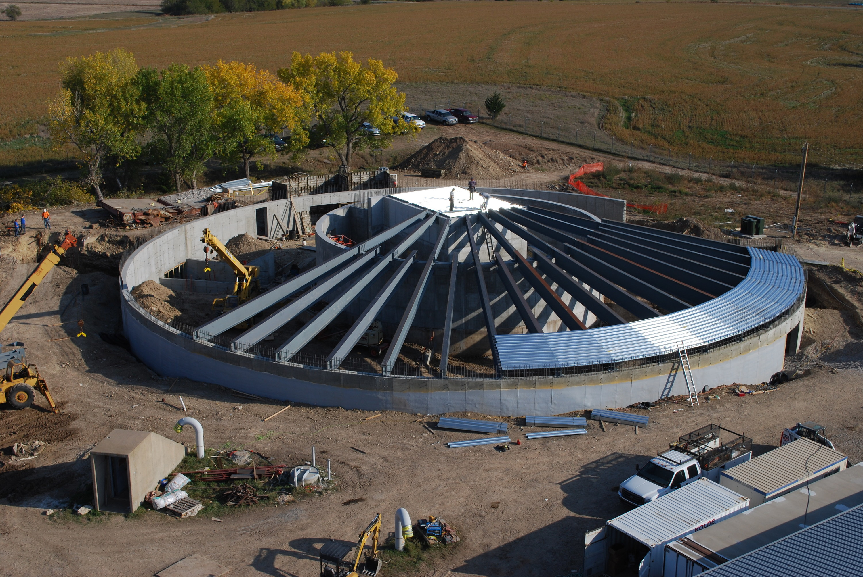A former missile silo in Kansas is turning into a luxurious survival condo for the super rich