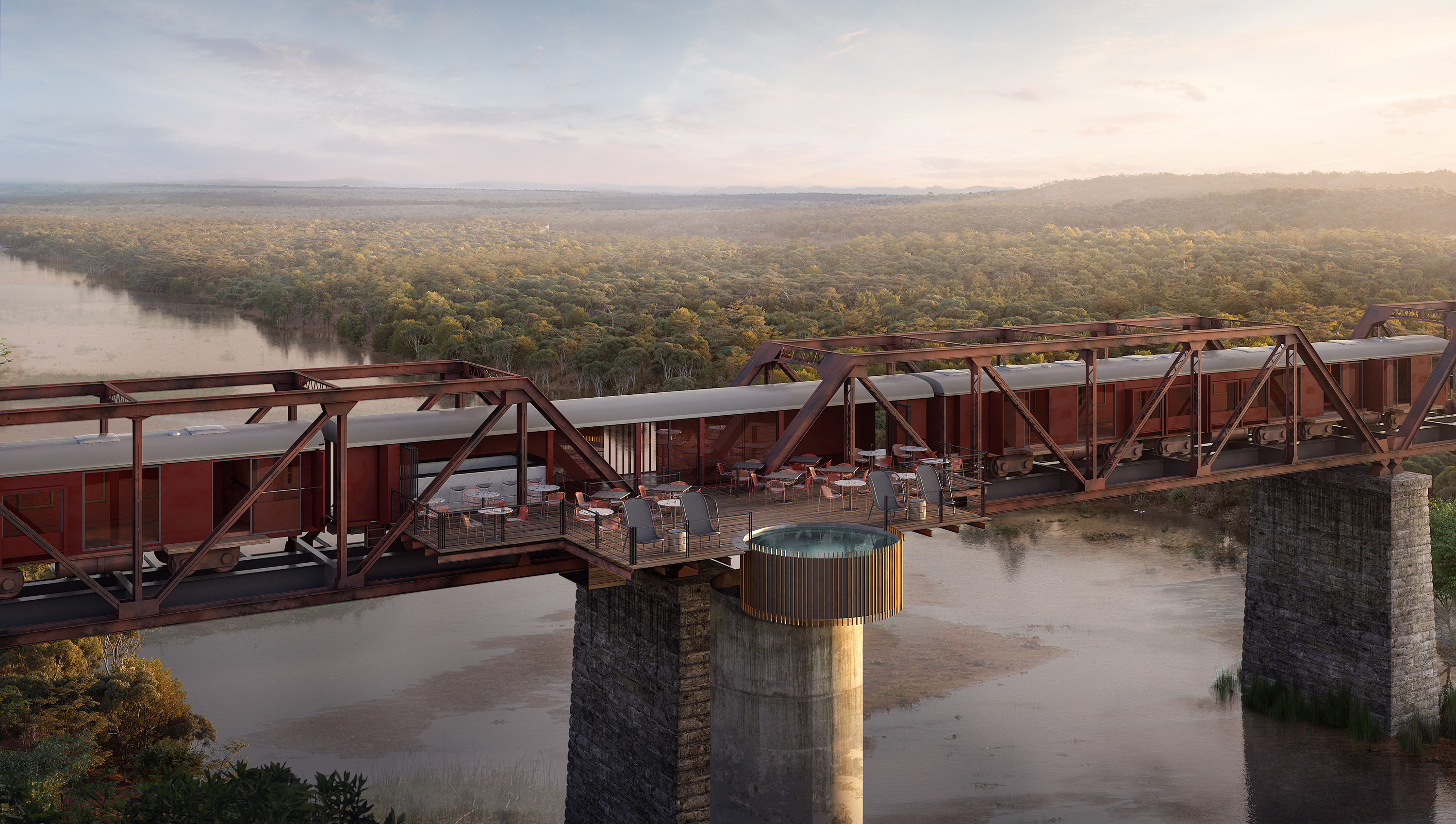 An incredible train hotel is opening in South Africa