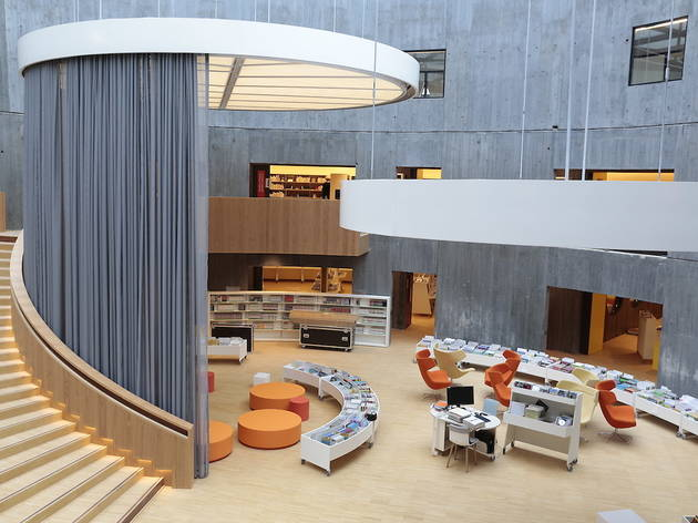 Bibliothèque Oscar Niemeyer ©Erik Levilly - Ville du Havre