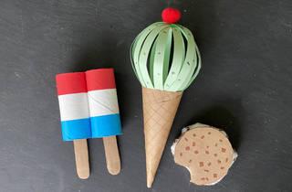 MCNY ice cream crafts