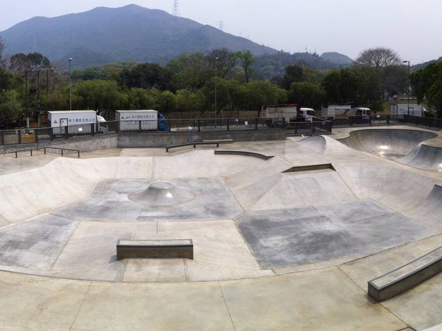 Fanling Skatepark On Lok Mun Street Playground