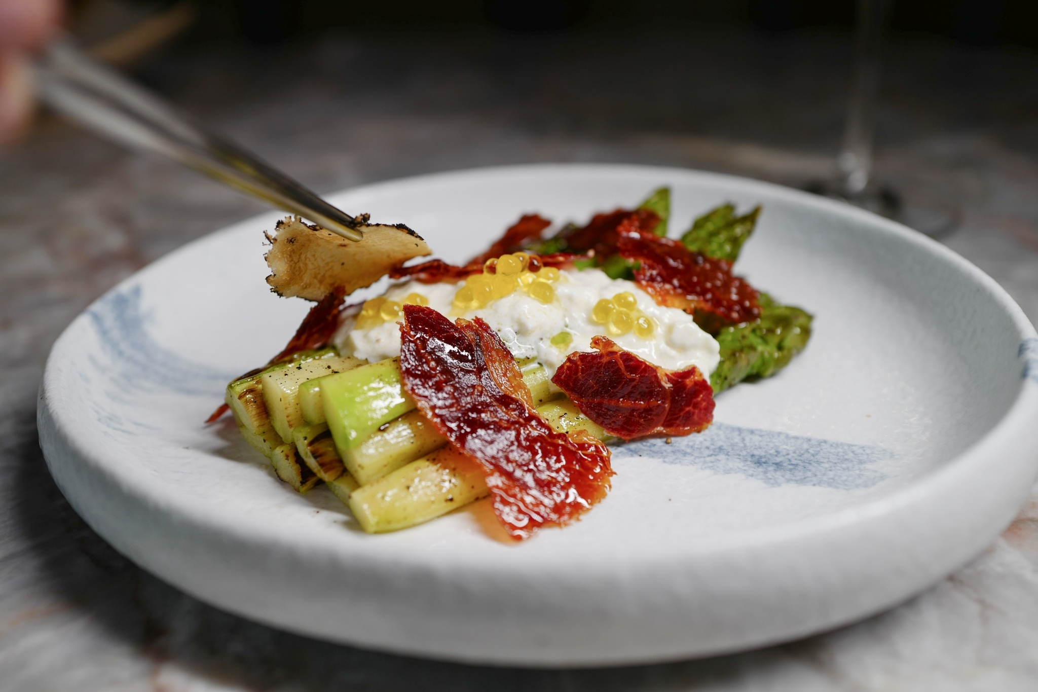 asparagus tapas spanish cuisine